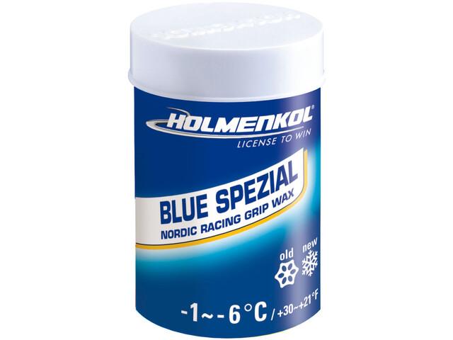 Holmenkol Grip Blue Spezial Cire d'adhérence pour ski 45g